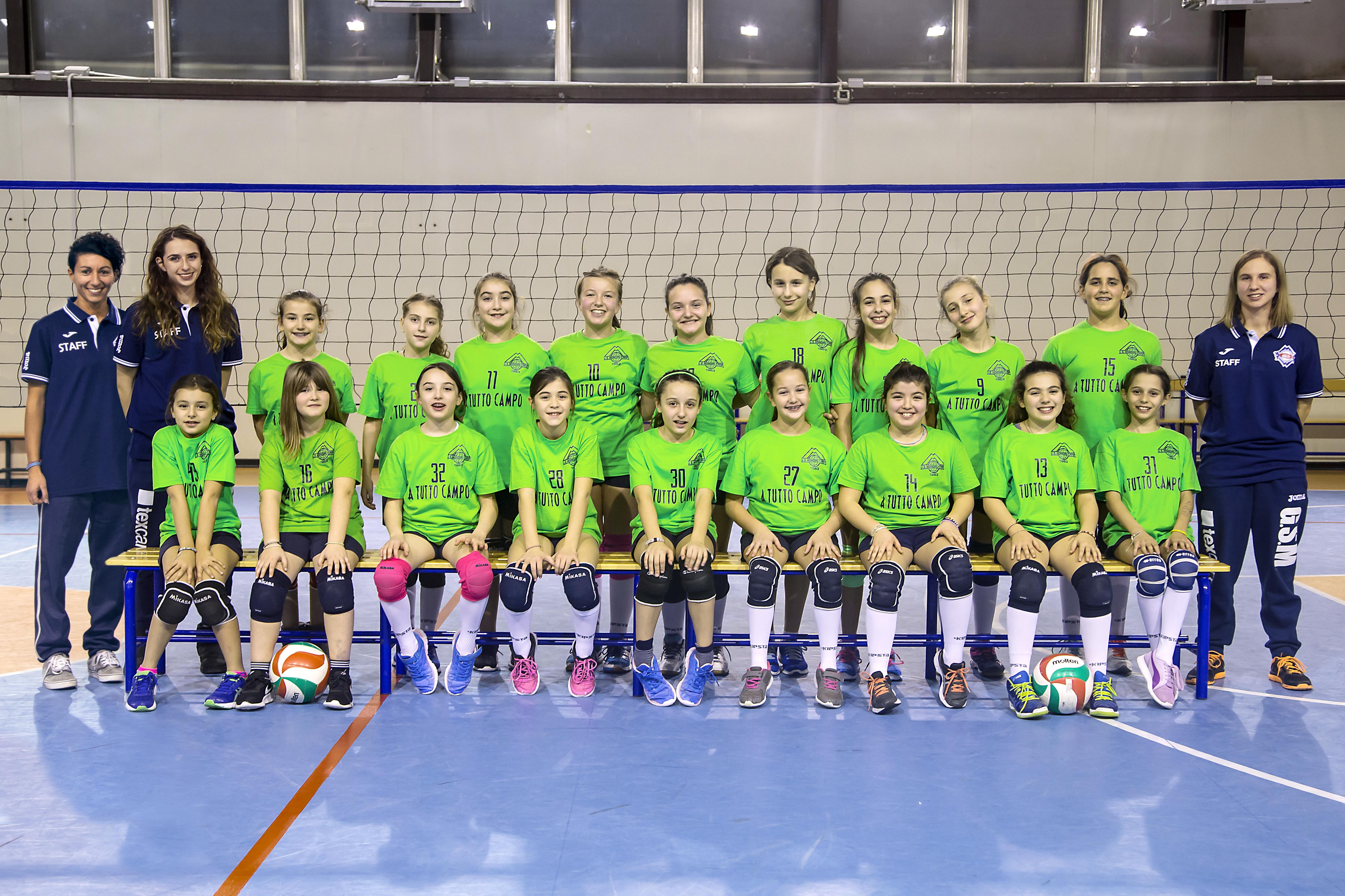Foto squadra U11 17:18