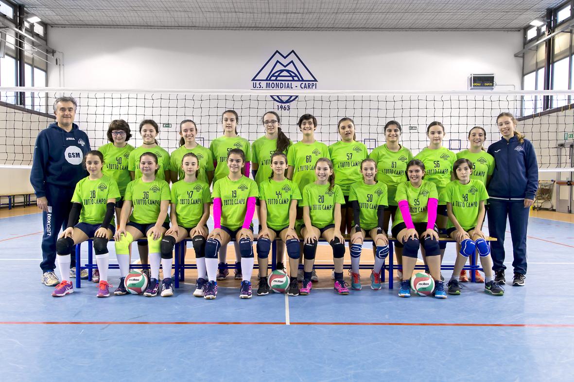 Foto squadra U12 17:18