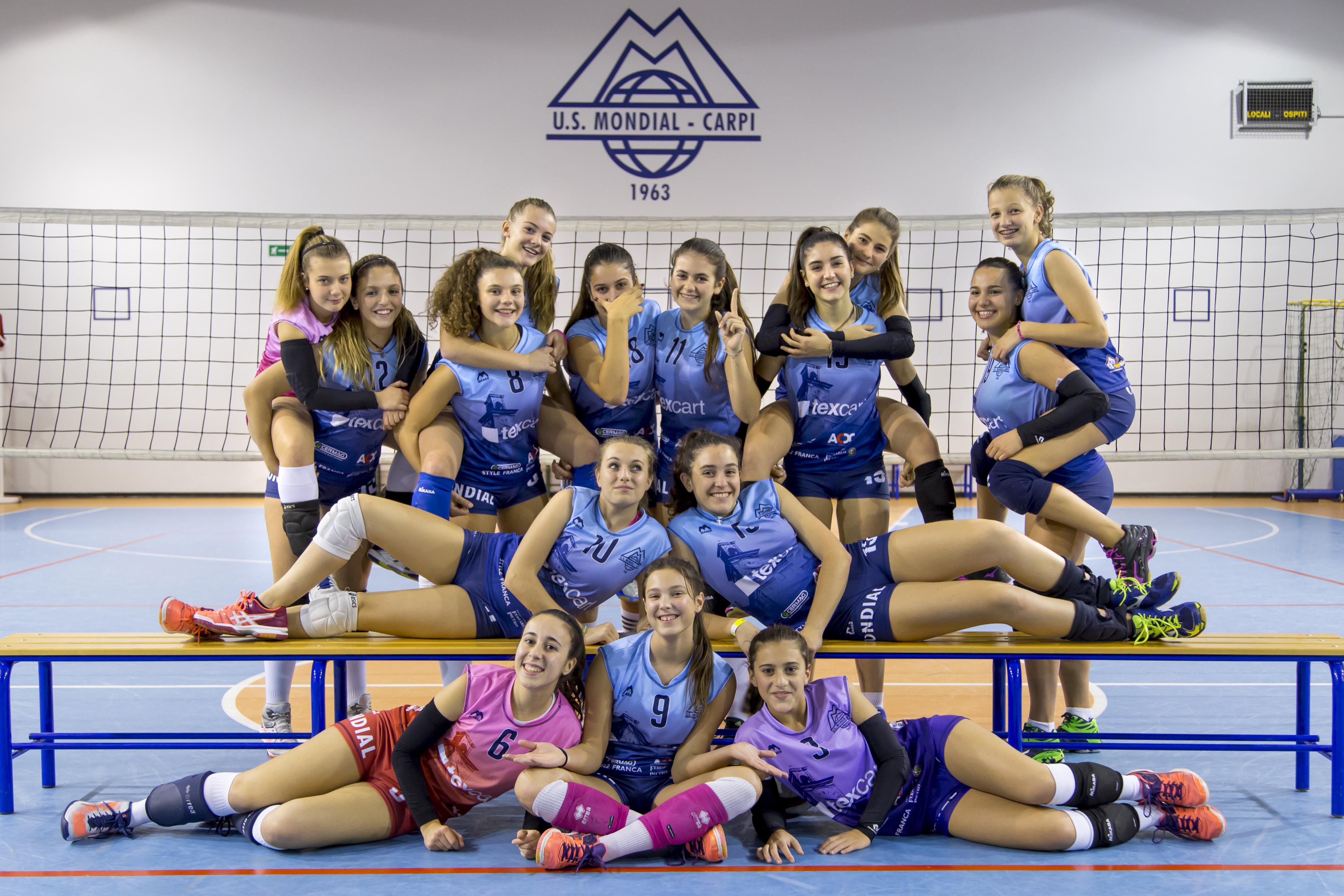 Foto squadra U16 Texcar2