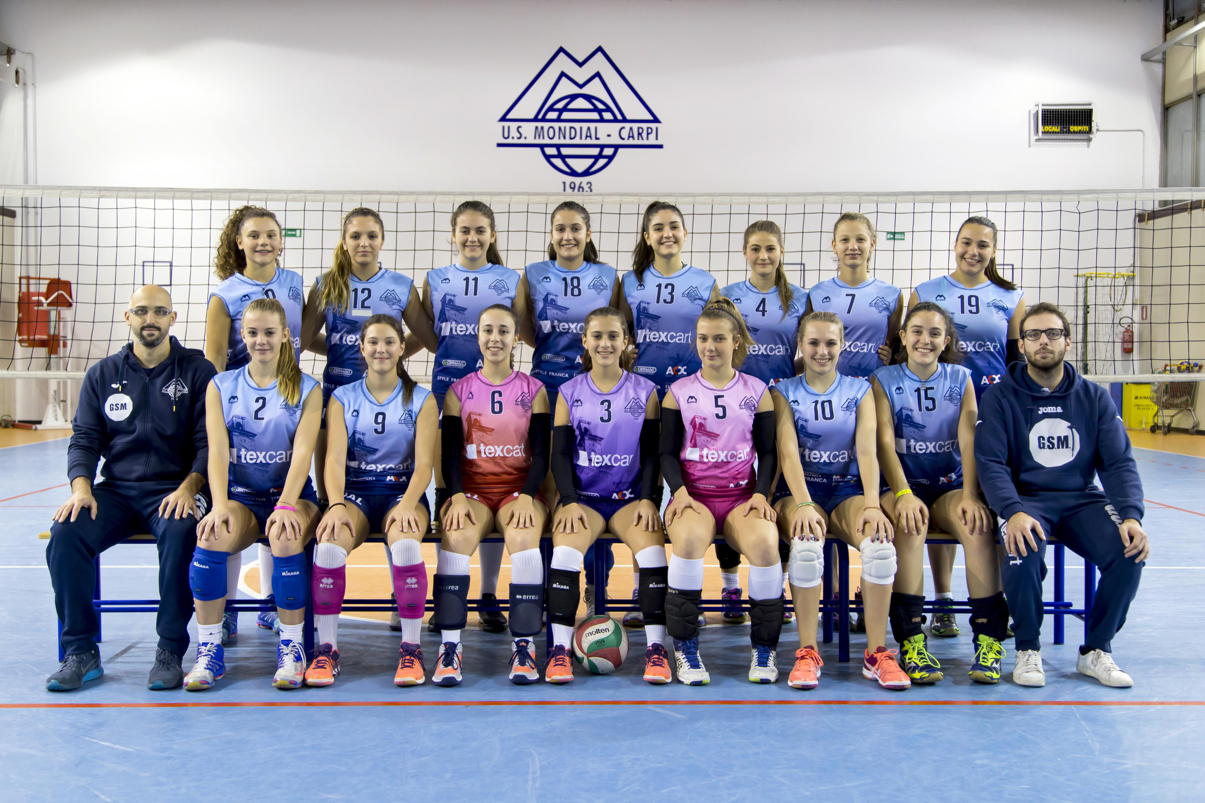 Foto squadra U16 Texcart